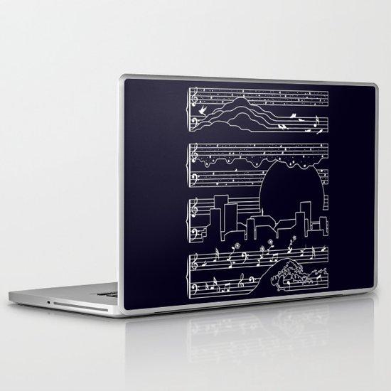 The Moonlight Sonata Laptop & iPad Skin