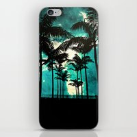 Palm Trees & Stars iPhone & iPod Skin