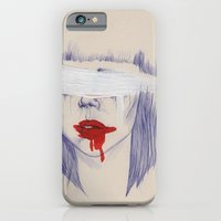 Damaged hearts iPhone 6 Slim Case