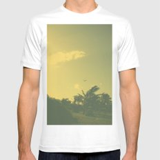 Hawaii Plane - Maui Mens Fitted Tee White SMALL