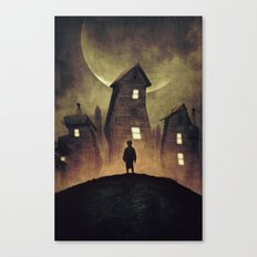 A Bad Dream Canvas Print