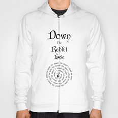 Alice In Wonderland Down The Rabbit Hole Hoody