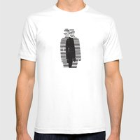 Deconstruction IV (Thin Man) Mens Fitted Tee White SMALL