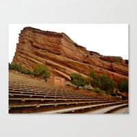 Red Rocks Amphitheater Canvas Print