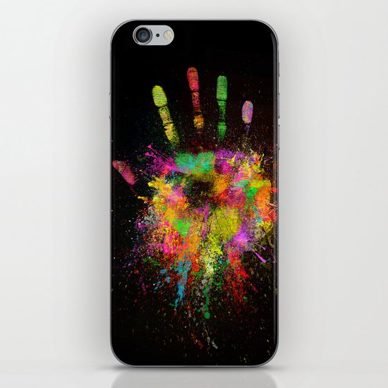 Artist Hand (1) iPhone & iPod Skin