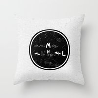 TIME TUNNEL Throw Pillow