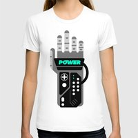 I HAVE THE POWER!!! Womens Fitted Tee White SMALL