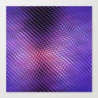 Crystals Reflection Canvas Print