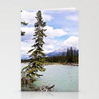 Alberta River Landscape Stationery Cards