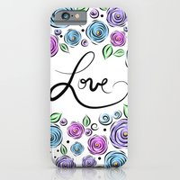 iPhone & iPod Case featuring Love Blooms - Lavender by Lisa Argyropoulos