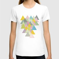 french T-shirts featuring French Alps by Cassia Beck
