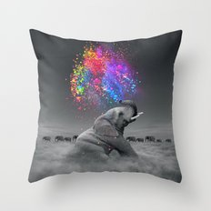 True Colors Within Throw Pillow