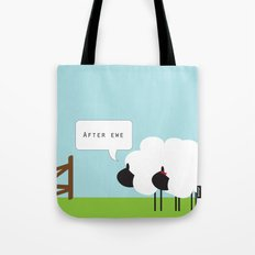 After Ewe Tote Bag