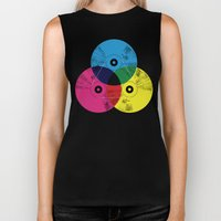 Music Is The Colors Of L… Biker Tank
