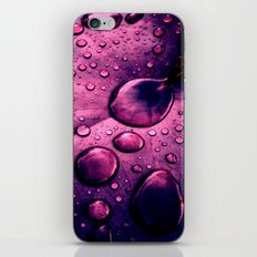water drops XIIX iPhone & iPod Skin