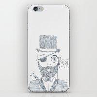 Upperclass Pirate iPhone & iPod Skin