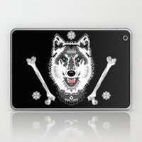 Silver Wolf Geometric Laptop & iPad Skin