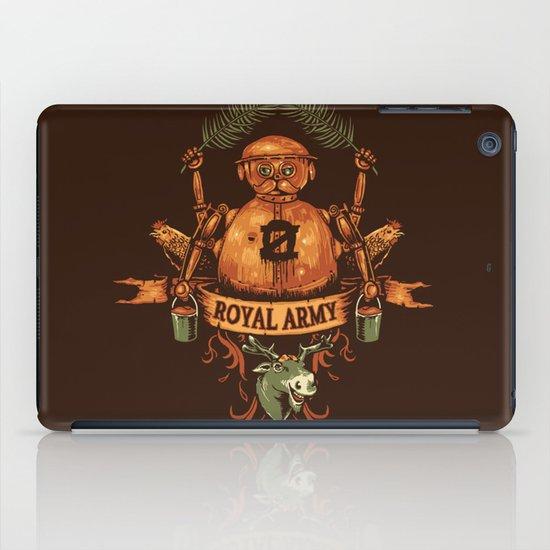 Royal Army iPad Case