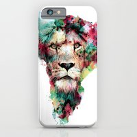 iPhone Cases featuring THE KING by RIZA PEKER