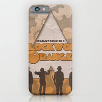 iPhone & iPod Case featuring A Clockwork Orange by JAGraphic