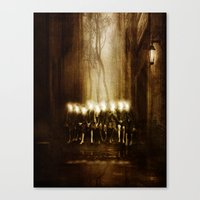 Children of the light Canvas Print