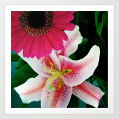 Flowers 1 Art Print