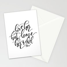 Leave Her Wild Stationery Cards