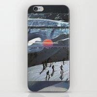 Night Skiing  iPhone & iPod Skin