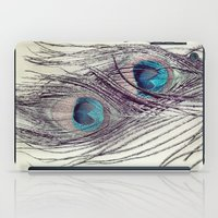 Peacock Feathers iPad Case