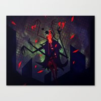 Canvas Print featuring I Am Heart Broken by Doc Diventia