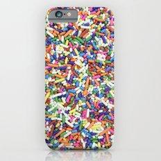 Rainbow Candy Dessert Sprinkles Slim Case iPhone 6s