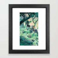 Vile Evan The Slimeophag… Framed Art Print