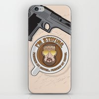 I'm Staying. Finishing my coffee… finishing my coffee. iPhone & iPod Skin