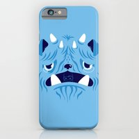 iPhone & iPod Case featuring The Bluest Monster Ever :(( by Marco Angeles