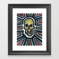 Sovereign Skull Framed Art Print