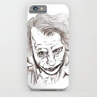 iPhone & iPod Case featuring Joker by Lilyana Reyes