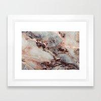 Marble Texture 85 Framed Art Print