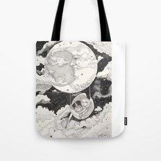 Moon Angel Tote Bag