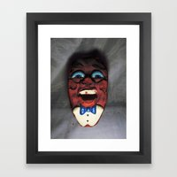 Necrotic California Raisin Nightmare Fuel Framed Art Print