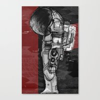 Dieter Rams In Space Canvas Print