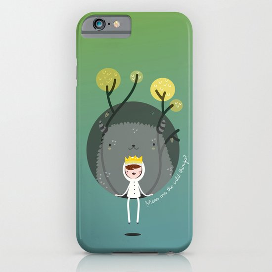 Where are the wild things? iPhone & iPod Case