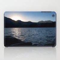 Fallen Leaf Lake At Suns… iPad Case