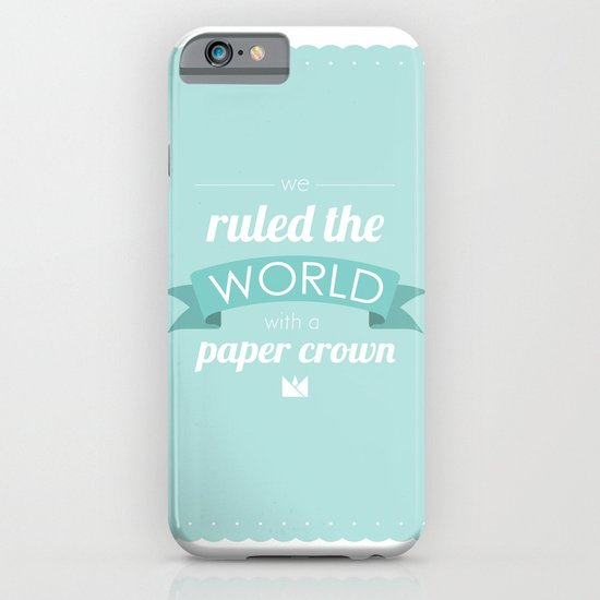 Paper Crown iPhone & iPod Case