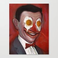 Mr. Breakfast Canvas Print