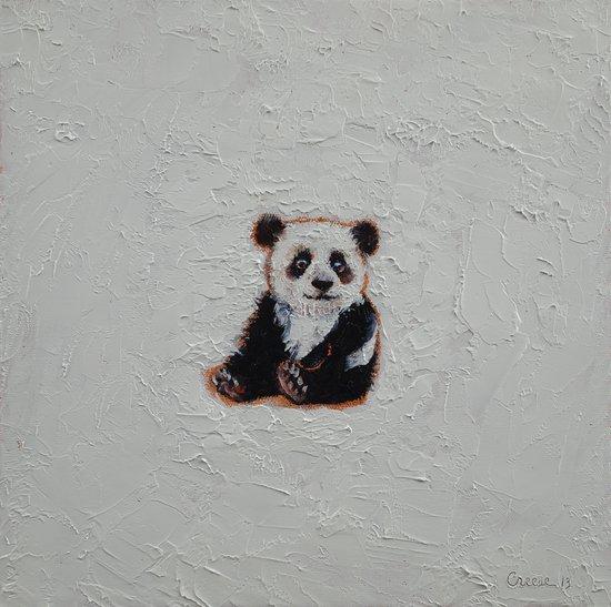 Tiny Panda Art Print