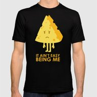 It Ain't Easy Being Chee… Mens Fitted Tee Black SMALL