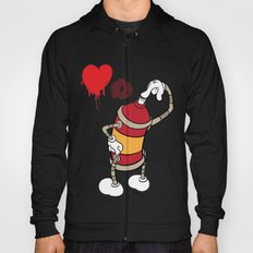 comic graffiti love Hoody