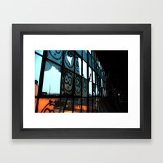 The beasts face  Framed Art Print