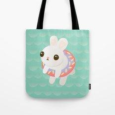 Doughnut Bun Tote Bag
