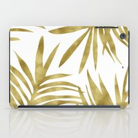 Gold Palm iPad Case
